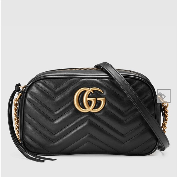52db25420a8 Gucci Handbags - Gucci GG Marmont Small Matelasse shoulder bag